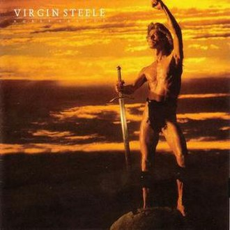 Noble Savage (album) - Image: Virgin Steele Noble Savage Front