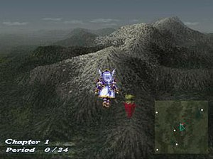 Valkyrie Profile - 3D world map