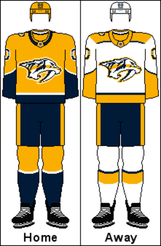 Nashville Predators - Image: WCC Uniform NSH