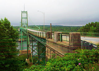 Waldo–Hancock Bridge bridge in Bucksport, Maine