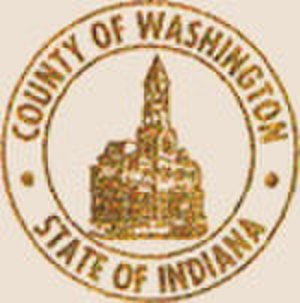 Washington County, Indiana - Image: Washington County in seal