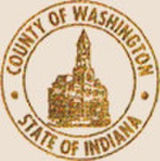 Washington County, Indiana - Image: Washington County in seal