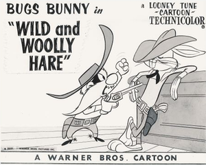 Wild and Woolly Hare - Lobby card.