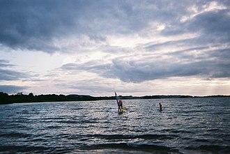 Lough Lene - Image: Wind surf Lene