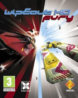 Wipeout HD Fury cover art
