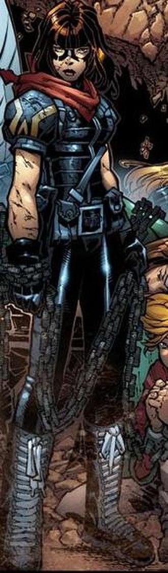 Husk (comics) - Paige's AoA look