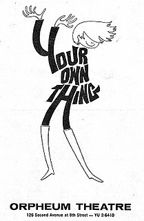 <i>Your Own Thing</i> musical