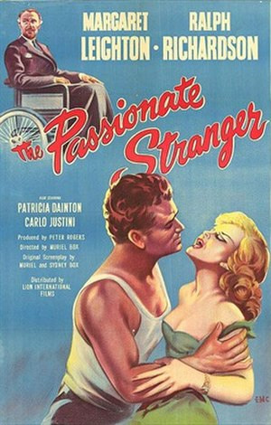 The Passionate Stranger - UK 1-sheet poster