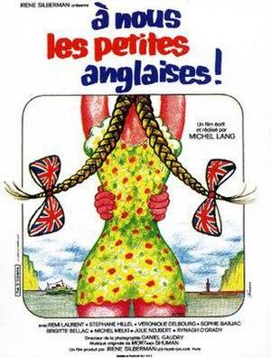 À nous les petites Anglaises - Theatrical release poster