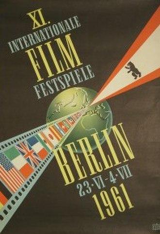 11th Berlin International Film Festival - Festival poster