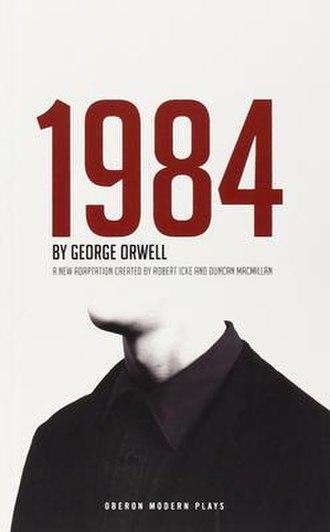 1984 (play) - Image: 1984 play artwork