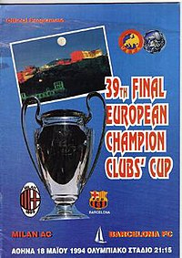 1994 Uefa Champions League Final Wikipedia