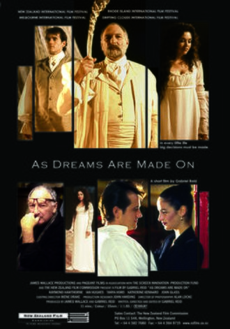 As Dreams Are Made On - Promotional flyer