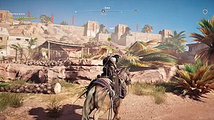 Assassin's Creed Origins - Image: AC Origins horse