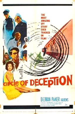 A Circle of Deception - US poster