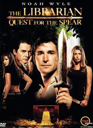 The Librarian: Quest for the Spear - Image: Affiche Librarian Quest for the Spear 2004 1
