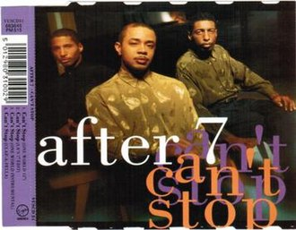 Can't Stop (After 7 song) - Image: After 7 Can't Stop single cover