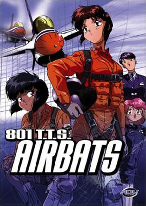 801 T.T.S. Airbats - North American DVD cover of 801 T.T.S. Airbats