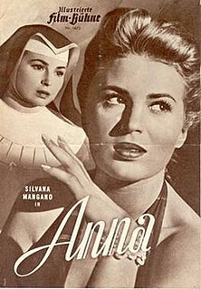 <i>Anna</i> (1951 film) 1951 film by Alberto Lattuada