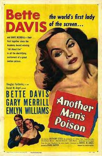Another Man's Poison - Theatrical release poster