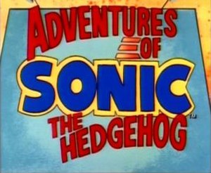 Adventures of Sonic the Hedgehog - Logo