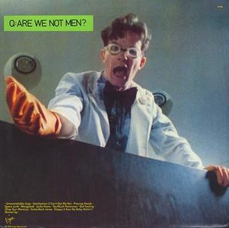 Q. Are We Not Men? A: We Are Devo! - Image: Are we not men europe