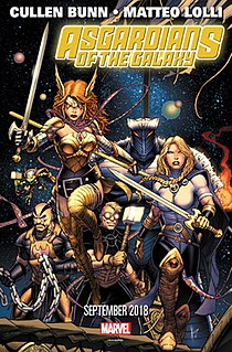 Asgardians of the Galaxy Fictional comic book superheroes