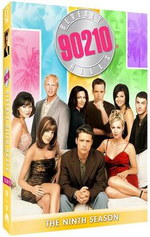 Beverly Hills, 90210 (season 9) - DVD cover