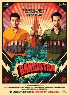 <i>Bangistan</i> 2015 Indian film directed by Karan Anshuman
