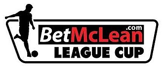 Northern Ireland Football League Cup - Image: Bet Mc Clean.com Cup logo