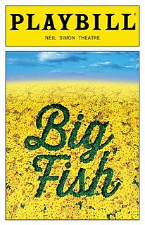 <i>Big Fish</i> (musical) musical