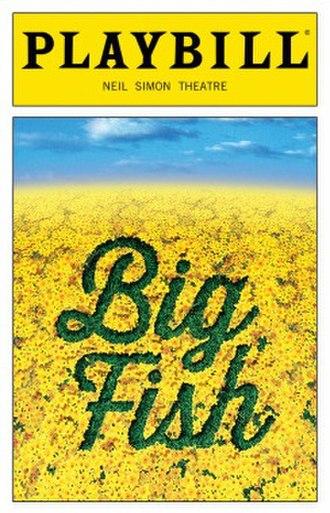 Big Fish (musical) - Original Broadway Playbill