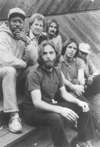 Bobby and the Midnites - Bobby and the Midnites in 1981. (Back L-R: Billy Cobham, Bobby Cochran, Matthew Kelly. Front L-R: Brent Mydland, Bob Weir, Alphonso Johnson)