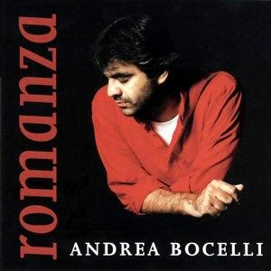 Romanza - Image: Bocelli Romanza Album Cover