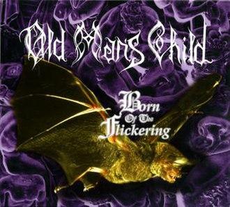 Born of the Flickering - Image: Born of the Flickering (Old Man's Child album) alternate coverart