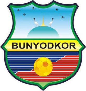 FC Bunyodkor - The club's logo in 2008–2013