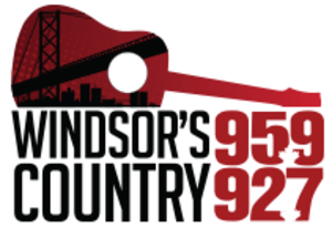 CJSP-FM - Image: CJWF windsorscountry 95.9 92.7 logo