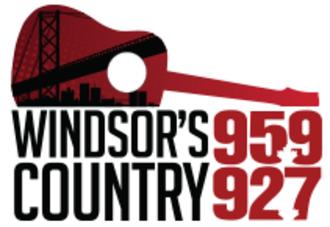 CJSP-FM - Image: CJWF windsorscountry 95.9 92.7 logo