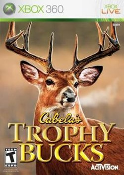 """Cabela's Trophy Bucks"" cover art"
