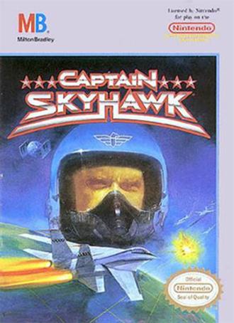 Captain Skyhawk - North American NES box art