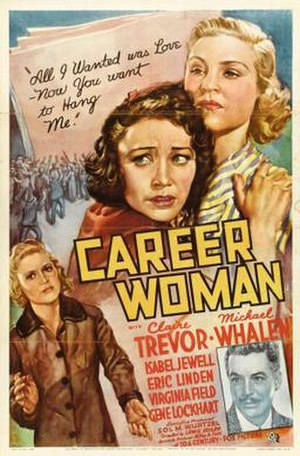 Career Woman (film) - Theatrical release poster