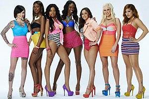 Bad Girls Club (season 11) - Image: Cast of Bad Girls Club season eleven, June 2013