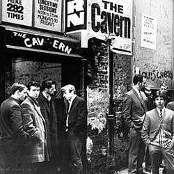 Cavern Club , Mathew Street, Liverpool
