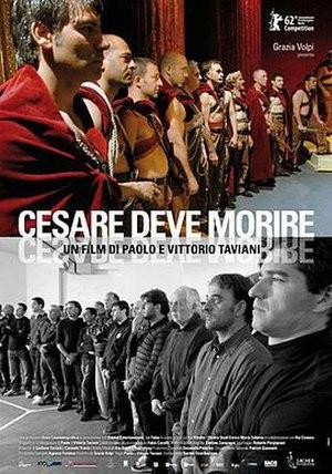 Caesar Must Die - Theatrical release poster