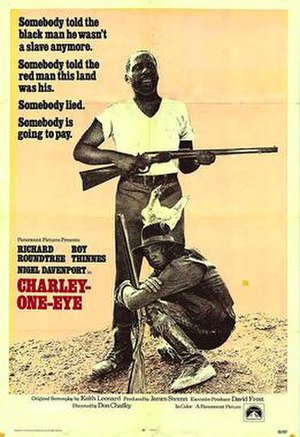 Charley One-Eye - Theatrical poster for Charley One-Eye (1973)