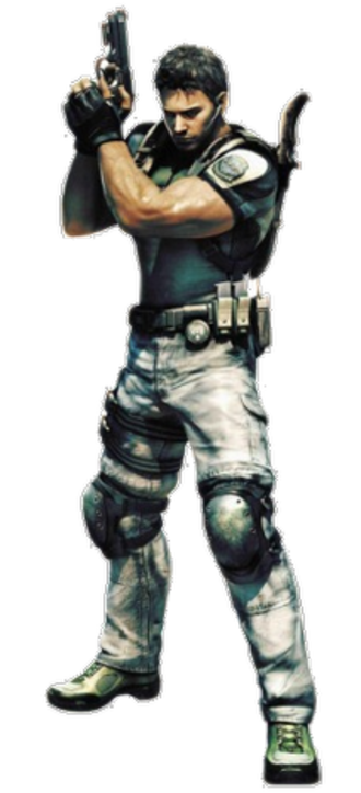 Chris Redfield - Chris' redesign in Resident Evil 5 was the subject of praise and criticism.