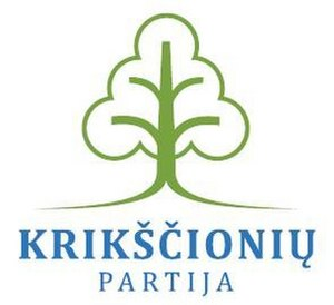 Christian Party (Lithuania) - Image: Christian Party (Lithuania) logo