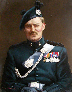 Duncan Carter-Campbell of Possil - Image: Col. Duncan Carter Campbell OBE