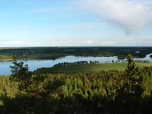 Dalsland - A typical lake in Dalsland