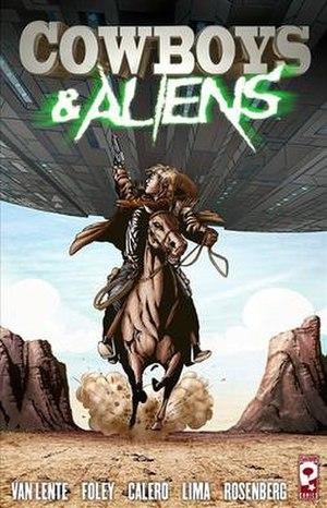 Cowboys & Aliens (comics) - Image: Cowboy and aliens cover